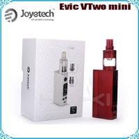 Precio de Evic joytech-100% auténtico JOYTECH actualizado Mini temperatura Evic VTC Starter Kit Joye EVIC-VTC Set Iniciación Control Evic VTwo Mini con cubis Pro Kit