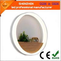 Wholesale 200mm mm led wall light modern led Simple circular LED mural decoration lamp wall light toilet lighting mirror lamp