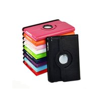 apple ipad options - 360 degree rotating swivel stand magnetic PU leather case smart cover case for ipad mini colors option