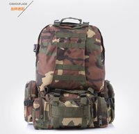 Wholesale Brand New Outdoor mountaineering climbing backpack multifunctional Airsoft tactical backpacks travel bag camping Hiking bag