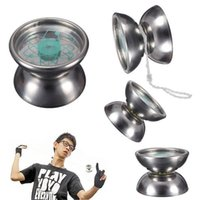 Wholesale High Quality Professional Stainless Steel YoYo Ball Bearing String Trick Kids Toy Fun Gift New Hot Sale