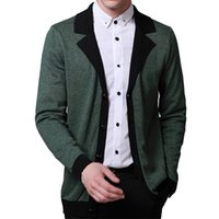 Wholesale 2016 Fashion Autumn Men s Christmas Sweaters Male V neck winter Cardigan Men Knitwear Slim Casual Pullover Mens Clothing