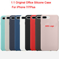 apple offices - Newest Original Office Soft Silicone Cases Coque High Quality Ultra Thin Luxury Brand Covers For iPhone For iPhone Plus Capas Fundas