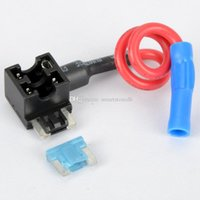 Wholesale Hot New Add a circuit ATM Low Profile Blade Style Fuse Holder M00069 SPDH