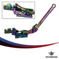Wholesale PQY STORE Universal Jdm Hydraulic Horizontal Rally Drifting E brake Lever HandBrake NEO CHROME PQY3633NC