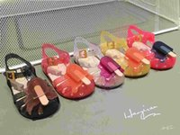 Girl autumn fruits - 11 cm Mini Sed Ice Cream Popsicles Fruit Baby Girls Sandals Shoes Summer Jelly Shoes For Toddlers Colors