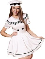 Sexy Costumes adult navy costume - Sexy Sailor Girl Adult Ladies Fancy Dress Costume Cosplay Navy Uniform Nightclub Women Halloween Party Outfit