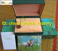 Wholesale Mens For ROLEX Submariner Watch Box Original Inner Outer Woman s Watches Boxes Men Wristwatch