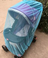 Wholesale Cheap mosquito nets to increase the encryption stroller stroller full face nets