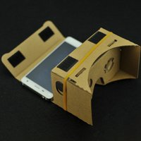 Wholesale Google Cardboard version Cardboard VR Virtual Reality D Glasses Storm Mirror DIY Viewing head strap For iphone7 Samsungs7 XL E0