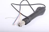 Cheap New Hot Air Gun Desoldering Heat Gun Handle for 858 858D 898D 852D Soldering Station Repair Rework High Quality