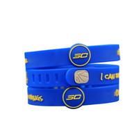 basketball wristbands - Fashion Sports Basketball Bracelet Energy Wristband Curry Stylish Soft Silicone Colorful Bracelet for Boys and Girls E003