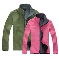 Wholesale Outdoor fleece clothing autumn and winter cardigan thickening anti static ball plus size outerwear outdoor jacket liner