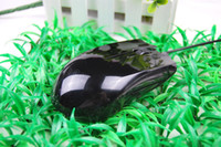 Wholesale 1 Copy Razer Abyssus Gaming mousoe Grind arenaceous mirror DPI Wired optical mouse game fast and DHL
