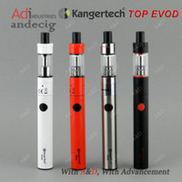 Wholesale New Authentic kangertech Kanger Top EVOD topevod vs joyetech ego aio starter kit vtc authentic smok nano one dripobox watt starter kit