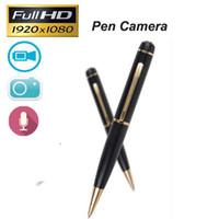 Wholesale Hot Sale Full HD P Pen Spy Camera Hidden Audio Video Recorder Mini DV Convert Camcorder