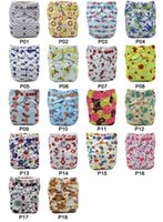 Wholesale Asenappy Baby Reusable Cloth Diaper Covers Nappy One Size with one insert
