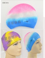 Wholesale Top Quality Solid Swimming Cap Silicone Swimming Hats Water proof Adult Caps Men Women Children Piece