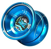 Wholesale 2016 KK Bearing Professional Butterfly Metal Yoyo Toys Game Special Props Dead Sleep Christmas gifts YY333