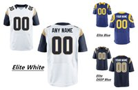 Wholesale 2016 New Men s Rams Elite Custom Football Authentic Jerseys Any Name Nmuber Professional High Quality Stitched Jerseys Low Price
