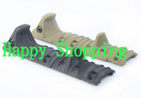 airsoft rail covers - TacticaL Hand Stop Kit serves for airsoft Modular Full Profile Picatinny Rail Cover Polymer grip BK DE