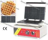 belgian waffle baker - v v Electric Commercial Use Non Stick Belgium Belgian Waffle Maker Machine Baker