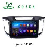 auto resolution - 10 Android Auto Car DVD For Hyundai IX25 Indash Radio GPS Navi WIFI G Google Netowrk OBD DVR Resolution Quad Core