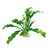 Wholesale Super Deal Artificial Plastic Water Plant for Aquarium Aquatic Decoration Fish Tank Ornament XT