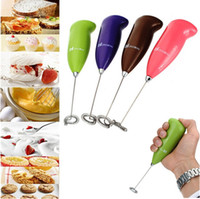 Wholesale Electric Mini Mixer Kitchen Stirrer Milk Frother Coffee Cappuccino Egg Milkshake Brand New Good quality Hot sales