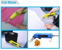 Wholesale Professional Electric Hot Knife Cutting Cloth Professional Portable Hot Strip Cutter Machine