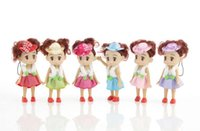 Wholesale 10 cm bright dream doll han edition cap Lovely little girl dolls confused hang anime peripheral MC10