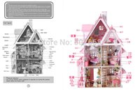 Wholesale Christmas Gift Sunshine Alice DIY Doll House Model Building Kits Handmade D Miniature Wooden Dollhouse Toy