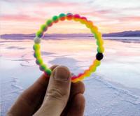 14k findings - Newest Neon Lokai Bracelet Lokai Silicone Bead Bracelet lokai Silicone Find Your Balance Lokai jewelry DHL Free