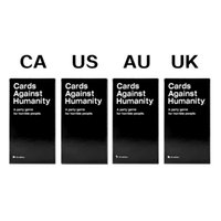 Wholesale Cards Against For Humanity US CA UK AU Edition Game Cards Against Humanities New sealed In Stock