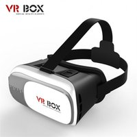 Wholesale VR Glasses Google Cardboard Virtual Reality D Glasses Gear VR Box Version Headset Bluetooth Remote Controller VR119
