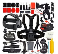 backpack accessory straps - accessories GoPro set self stick chest strap wrist strap storage bags backpack clip and Other Camera Accessories