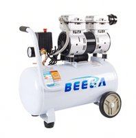Wholesale silent hp portable piston oilfree air compressor Ltr tank bar pressure dB with CE certification