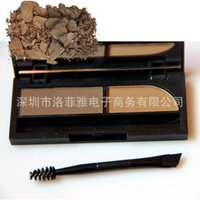 Wholesale Small M waterproof anti sweat lasting dye color eyebrow eyebrow cream with eyebrow brush