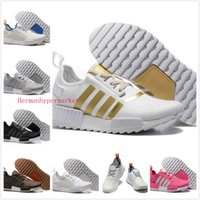 man and women - 2016 NMD Men Women Running Shoes Runner Grey Primeknit Original Micro Pacer Ultra NMD Runner Primeknit R4 Shoes Ultra boost Sneakers