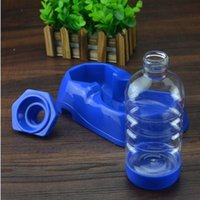 add dogs - 260ml Pet Dogs Automatic Add Water Plastic Drinking Bowl Small Dog Cat Plastic Drinking Water Tool