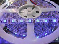 al por mayor ip65 calidad-16.4ft los 5M ultravioleta ULTRAVIOLETA 395nm 5050 SMD Púrpura 300 la luz de tira de la flexión del LED 12V impermeabiliza IP65, alta calidad,