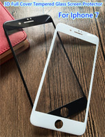 anti glare iphone cover - Sample Iphone plus D Full Cover Tempered Glass Screen Protector Curved Soft Edge White Black colors High Clear mm YH0033