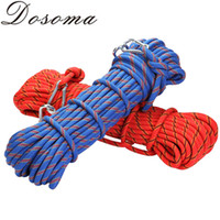 Wholesale 9KN mm Nylon Auxiliary Rope m Professional Climbing Rope High Strength Camping Survial Equipement Rock Safety Escape Rope