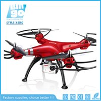 Wholesale BINGO SYMA X8HG WIFI FPV Real time Channel GHz Axis Gyro With MP HD Camera RC Quadcopter Drone RTF