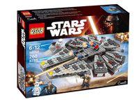 Wholesale Factory Whole Sale Price Star Wars Millennium Falcon Figure Toys building blocks minifigures compatible with legoe gift