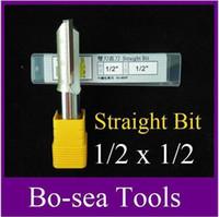 Wholesale 10 pieces Router Bits Straight Bit Shank Blade Tungsten Carbide Flutes ARDEN Professional Router bit YD