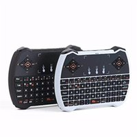 Wholesale Mini G Rii R6 Backlight Backlit Wireless Game Keyboard Fly Air Mouse Remote Control with Touchpad for MXQ Andriod TV Box IPTV