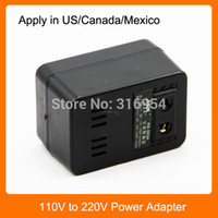 Wholesale 100W Wall AC Power Converter Adapter V to V For US Canada Mexico