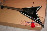 Wholesale New Arrival Black Very Beauty V Electric Guitar Musical instruments