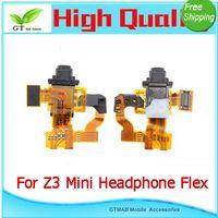audio tests - 20pcs good testing New Headphone Earphone Jack Audio Flex Cable With Light Proximity Sensor For Sony Xperia Z3 Mini Compact FLEX CABLE